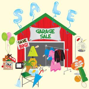 Have A Summer Garage Sale Without A Garage!